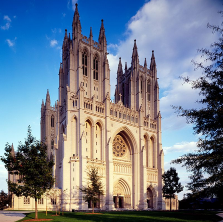 "The National ""Roman Catholic"" Cathedral in Washington DC"