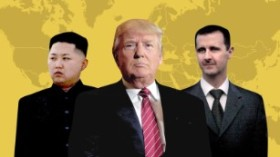 Trump Un Assad