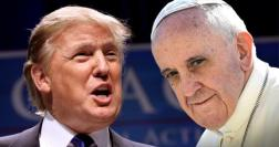Trump-Francis pic